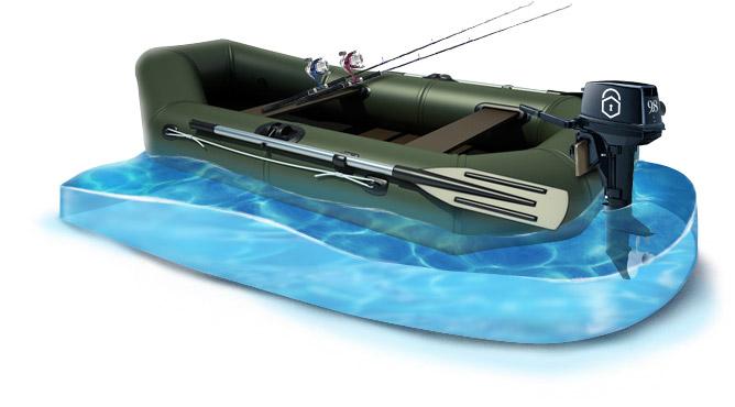 можно хранить моторную лодку